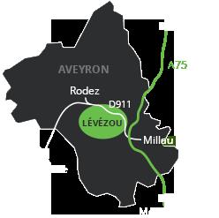 Le Lévézou au coeur de L'Aveyron