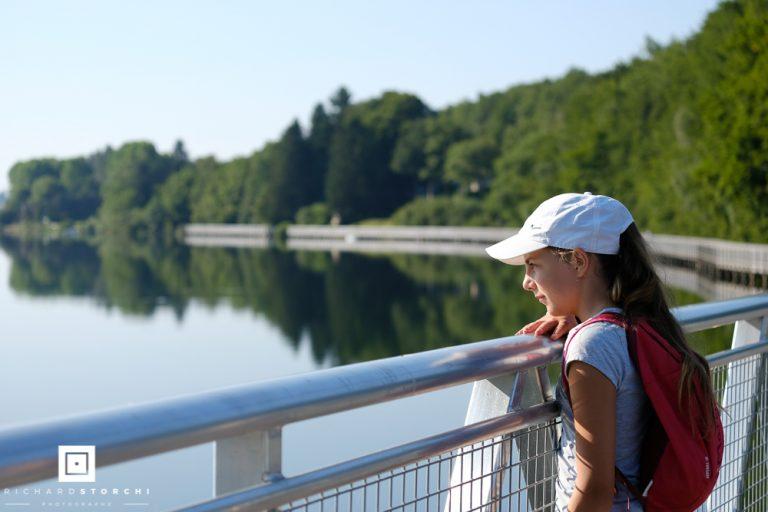 Sentier autour du Lac de Villefranche de Panat - Alrance