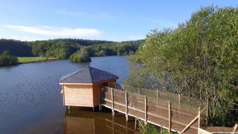 Observatoire du lac de la Gourde à Canet de Salars