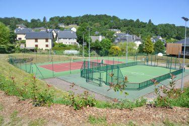 Terrain de Basket-ball, Hand-Ball, Volley-Ball