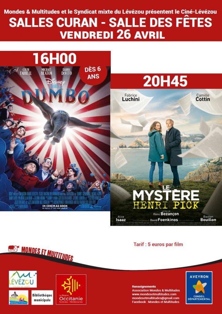 Le ciné-Lévézou : du cinéma au village (avec les derniers films sortis en salle) en Aveyron