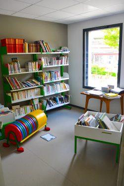 Bibliothèque – dépôt Bibliobus