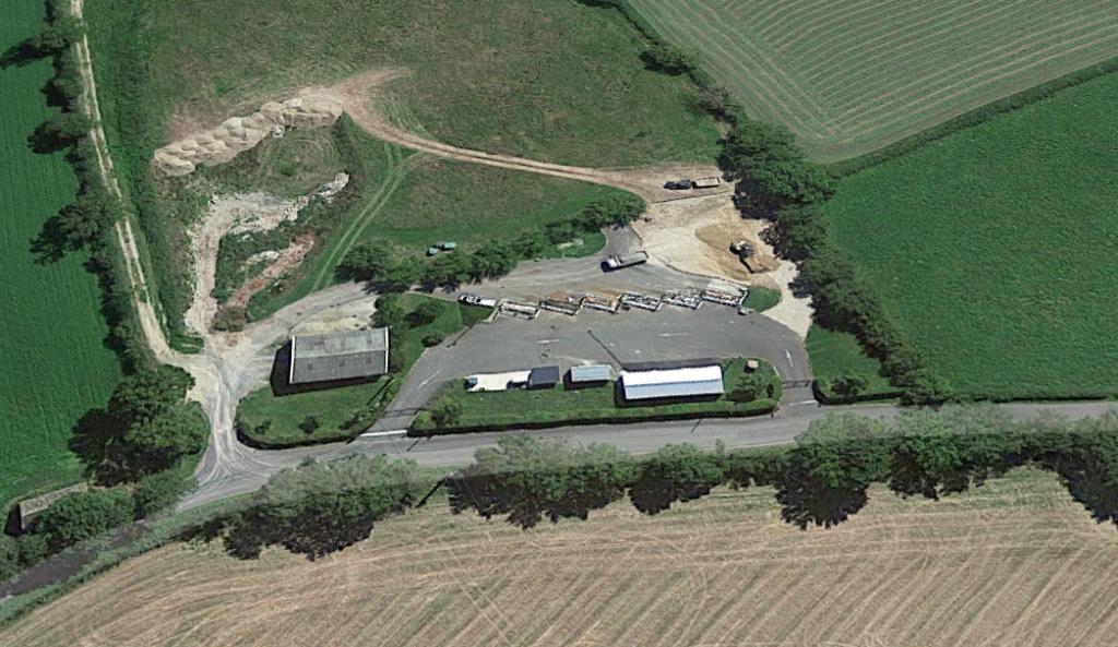 Déchèterie de Salmiech sur le Lévézou en Aveyron