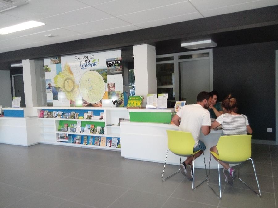 Photo de l'Office de Tourisme de Pareloup Lévézou à Pont de Salars en Aveyron