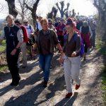 Au printemps, le Lévézou fête le GTML, Grand Tour Monts et Lacs du Lévézou, randonnée en Aveyron