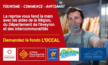 Les Communautés de communes Lévézou Pareloup et du Pays de Salars soutiennent les entreprises grâce au fonds L'OCCAL
