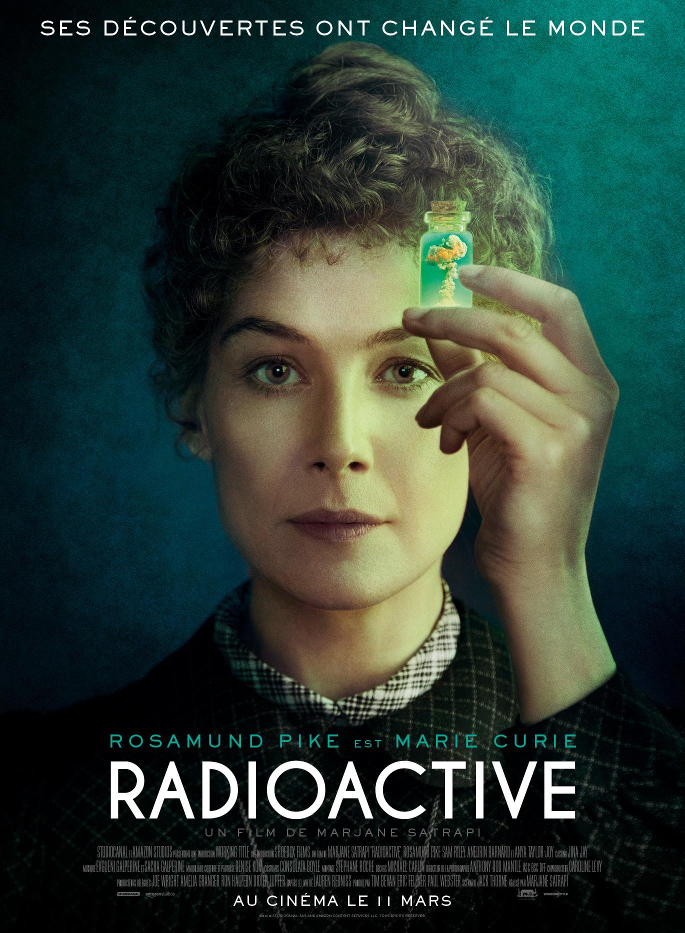 Ciné Lévézou : film Radioactive à Arvieu - Août 2020