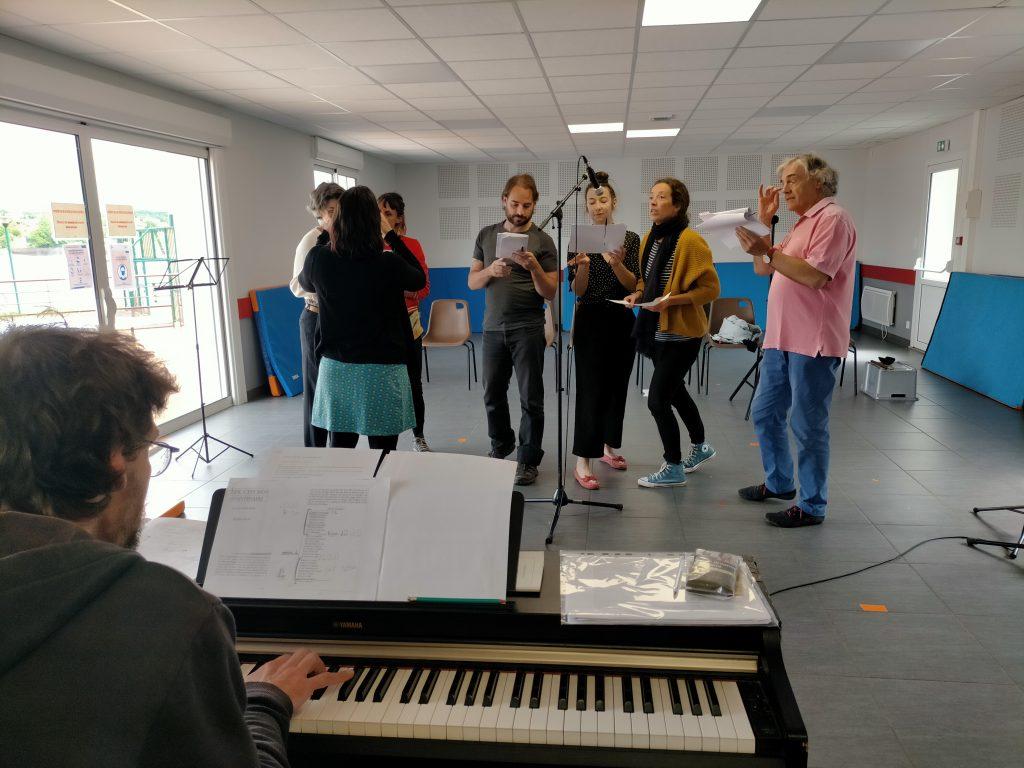 La Petite Histoire - Atelier mise en voix - Villefranche de Panat