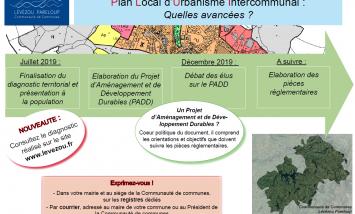 Communauté de communes Lévézou Pareloup - avancées PLUi