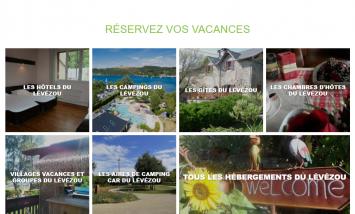 Site Office de tourisme Pareloup Lévézou