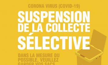 Suspension de la collecte des déchets jeunes en Aveyron